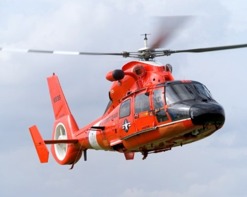 Helicoptero Coast Guard