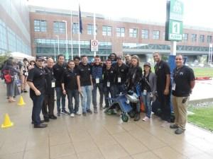 Grupo de estudiantes del RUM que compitió en Italia. (Foto Prensa RUM)
