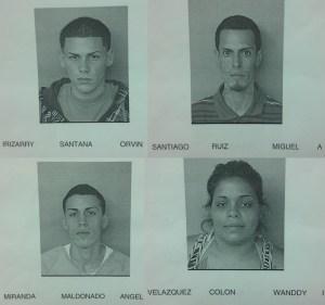 Fichas de los implicados en el asesinato del irlandés Gary Paul Hatswell.