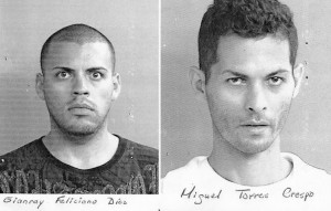 """Gianray Feliciano Díaz, alias """"El Jany"""" y """"El Gringo"""" y Miguel Torres Crespo, alias """"Cuajo"""". (Suministrada.)"""