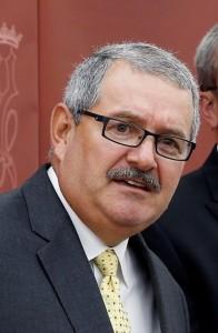 Coronel José Luis Caldero, Superintendente de la Policía