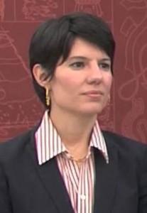 Ingrid Vila Biaggi, renunciante Secretaria de la Gobernación.