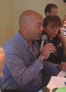 Luisito Ramirez, presidente de la Asociación de Comerciantes Unidos de Boquerón (Archivo).