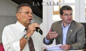 El secretario general de PNP, José Aponte, y el presidente de la colectividad, Pedro Pierluisi (Fotomontaje LA CALLE Digital).