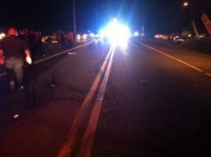 Continúan las muertes de peatones en la carretera PR-111 de Moca (Archivo).