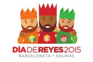 Logo de la Fiesta de Reyes de la Fortaleza para el 6 de enero de 2015.