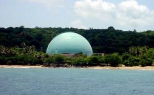 El cuerpo fue encontrado flotando frente a la costa donde está ubicada la antigua planta nuclear de Rincon (Archivo).