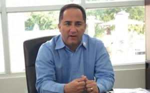 """Santos """"Papichy"""" Seda Nazario, alcalde de Guánica."""