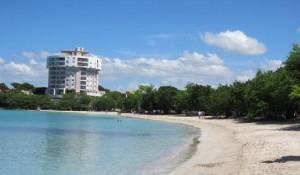 Vista parcial de Playa Santa en Guánica (Archivo).