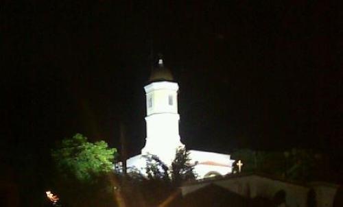 Basilica Monserrate Hormigueros Nocturna