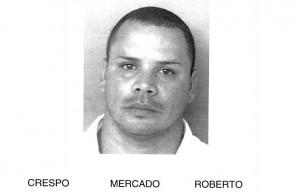 Foto de la ficha policíaca de Roberto Crespo Mercado (Suministrada Policía).