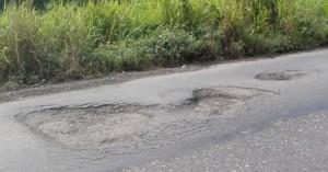carreteras hoyos