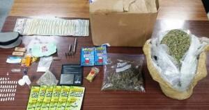 Material ocupado a estudiantes de la Interamericana de San Germán (Suministrada Policía).