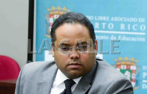 Rafael Román, secretario de Educación (Archivo).