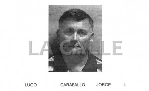 Ficha policíaca de Jorge L. Lugo Caraballo (Suministrada Policía).