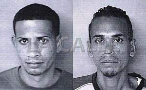 En el orden acostumbrado, Luis Cruz Ibarrondo y Julio Martínez Sánchez (Suministrada Policía).
