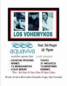 aquaviva 26 sept sabado