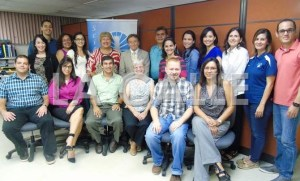 Grupo galardonado del Programa Ciencias sobre Ruedas (Suministrada RUM).