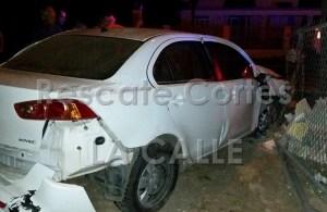 Accidente reportado en el barrio Camaseyes de Aguadilla (Foto Rescate Cortés).