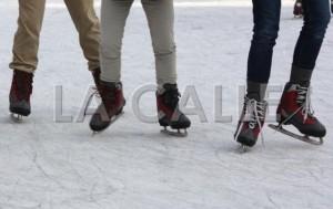 El uso de la pista sobre hielo será libre de costo para el público (Archivo).