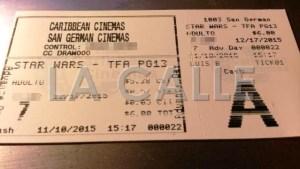 Las personas que acudieron directamente a las boleterías de las salas de cine, no tuvieron inconvenientes en la transacción (Foto LA CALLE Digital).
