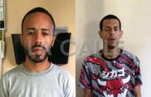 En el orden acostumbrado, Angel Soto Torres y Jaime Talavera (Suministradas Policía)