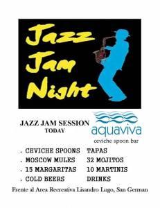 aquaviva jazz jam 23 dic 2015