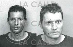 Los hermanos José Luis y Manuel Jesús Vázquez Quiñones, presos por agredir a sus padres (Suministrada Policía)