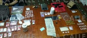Material ocupado durante allanamiento en Isabela (Suministrada Policía).