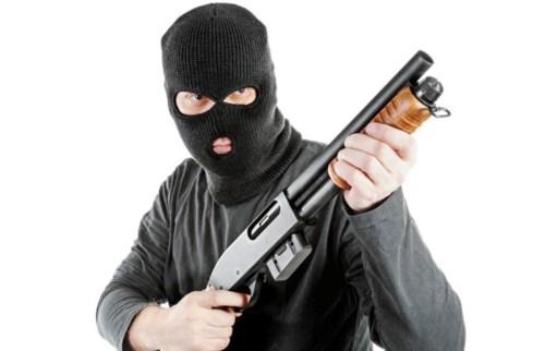 robo escopeta