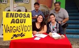 El recogido de endosos en Cabo Rojo comenzó a las 2:00 de la tarde (Foto Facebook).