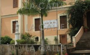 Fachada del Colegio San José de San Germán (Archivo).