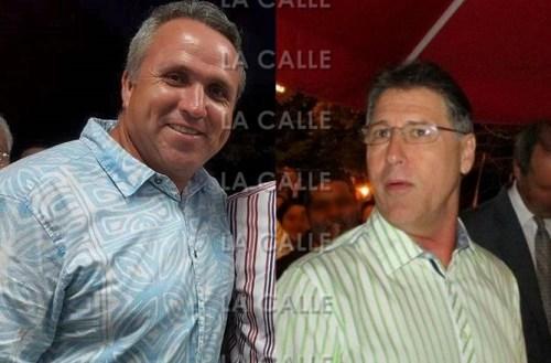 """A la izquierda, el candidato del PNP, Jorge Morales Wiscovitch. A la derecha el alcalde incumbente, Roberto """"Bobby"""" Ramírez (Fotocomposición LA CALLE Digital)."""