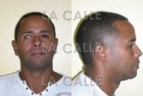 """Fotos del Registro de Ofensores Sexuales de Javier Santos Sánchez, alias """"Javier El Tuerto"""" y """"El Pirata""""."""