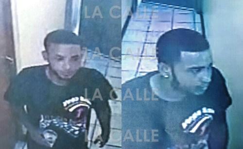 Fotos de las cámaras de seguridad de Christian Robles Ramos, buscado por las autoridades (Suministradas Policía).