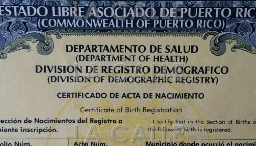 Desde el 11 de agosto se están expidiendo certificados de nacimiento, matrimonio y defunción en la JIP de Mayagüez (Archivo LA CALLE Digital).