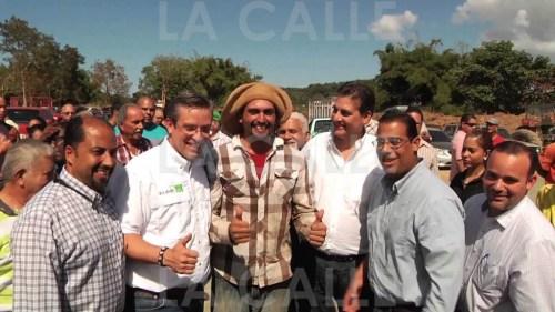 El 22 de enero de 2014, el gobernador García Padilla, la plana mayor de su gobierno y la Legislatura, anunciaron con bombos y platillos el proyecto de la caña en el Valle de Coloso, que nunca se materializó (Archivo LA CALLE Digital).