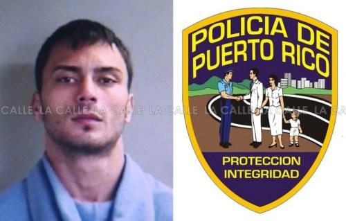 Foto de la ficha de Carlos Rubén Santiago Hernández (Suministrada Policía).