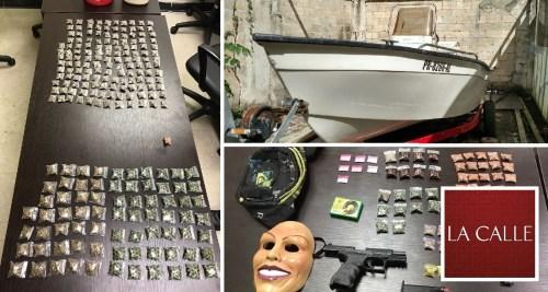 Parte de la propiedad confiscada en Aguada (Suministradas Policía).