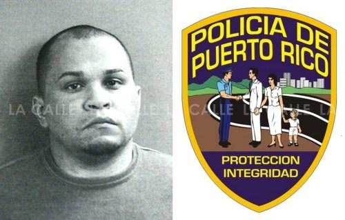 Foto de la ficha del agente Miguel Vadi Soto (Suministrada/Policía).