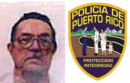 Don Andrés Ortiz Colón, desaparecido desde el 23 de febrero en Ponce (Suministrada/Policía).