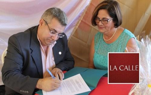En la foto, el doctor Nelson Vera y Madeline Pérez (Suministrada/UPR-Aguadilla).