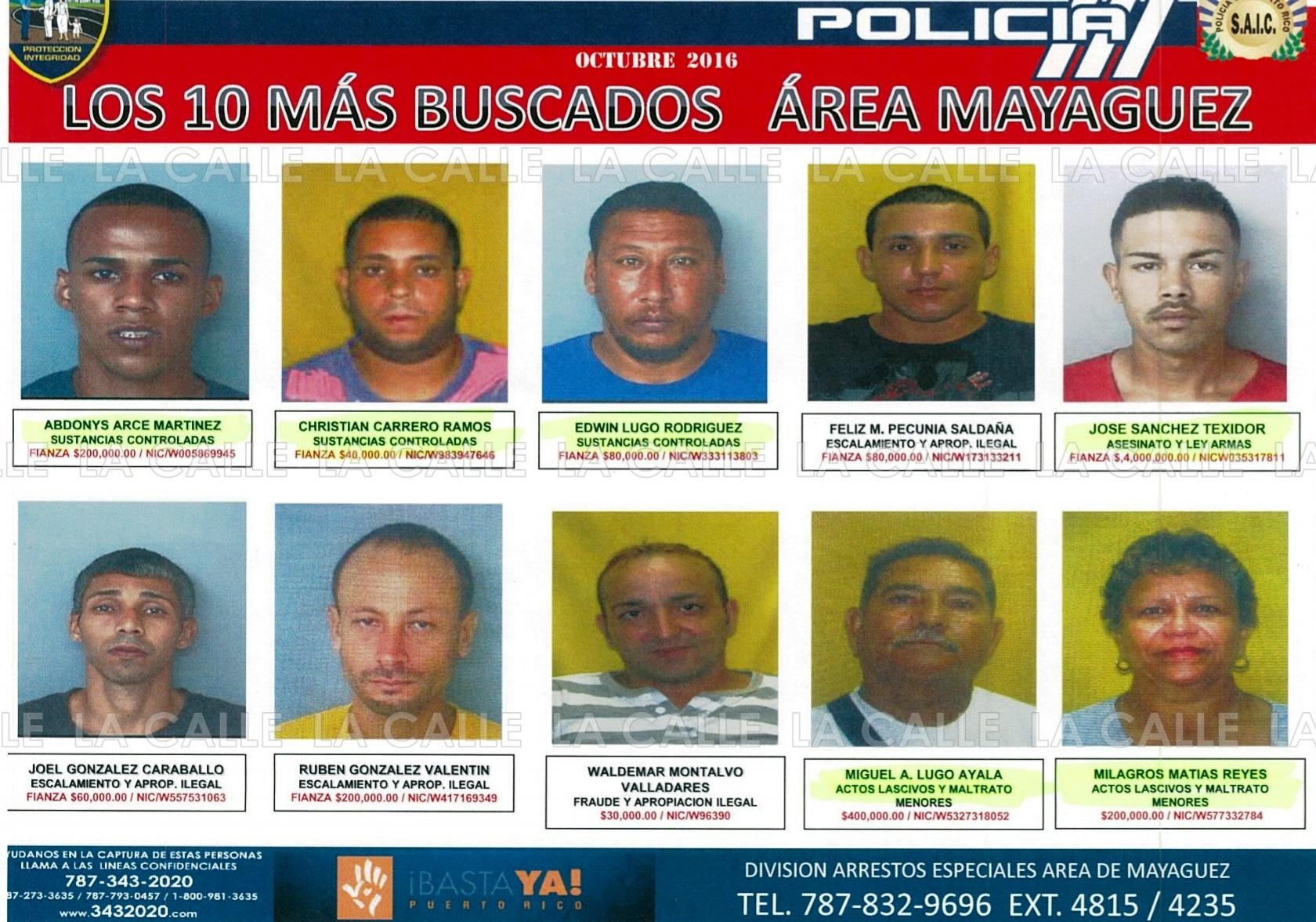 Buscados De Mas Rico 10 Los Puerto