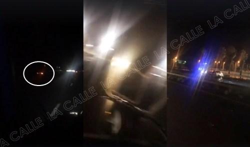 Secuencia del accidente fatal ocurrido en Guayanilla, provocado por un conductor que guiaba contra el tránsito (Captura de pantalla/Vídeo JJ LC/Facebook).