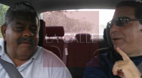 Cheo Torres y Julio Víctor Ramírez, hijo, conversan (Captura de pantalla).