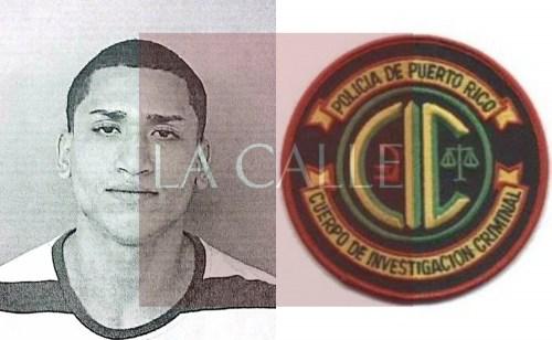 Foto de la ficha de Víctor O. Mercado Soto (Suministrada/Policía).