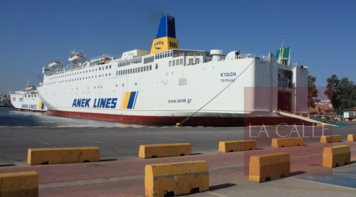 """El """"Kydon"""" es el nuevo ferry que hara el viaje entre Puerto Rico y la República Dominicana (Internet)."""