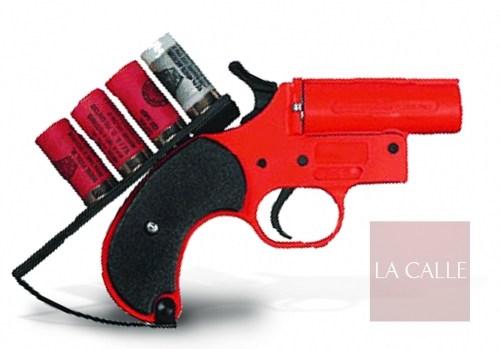 El sexagenario usó un arma parecida a esta (Archivo/LA CALLE).