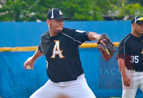 El lanzador Juan Archilla, de los Fundadores de Añasco (Suministrada/Doble A).