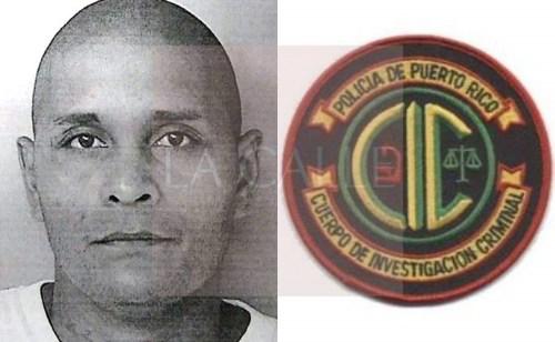 Foto de la ficha de David J. Lugo Báez (Suministrada/Policía)